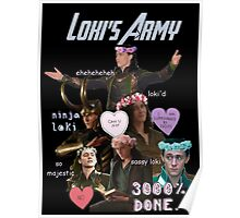 Loki's Army Poster