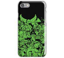 Old Friends - Green iPhone Case/Skin