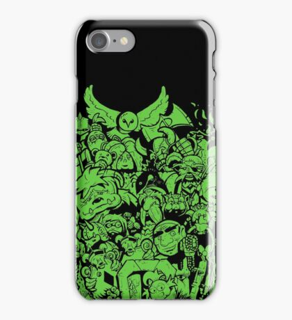 Old Friends - Green iPhone Case/Skin