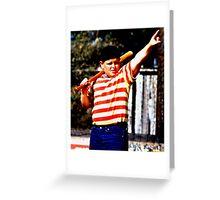 THE GREAT HAMBINO BALLERS SANDLOT Greeting Card