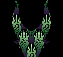 SCORCH pattern ~ Maleficent by Daniel Bevis