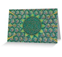 The Heart Chakra Greeting Card