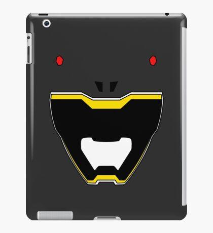 Dino Charge Black Power Ranger / Kyoryu Black iPad Case/Skin