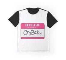 Cry Baby Name Tag- Melanie Martinez Graphic T-Shirt