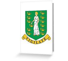 Virgin Island Coat of Arms Greeting Card