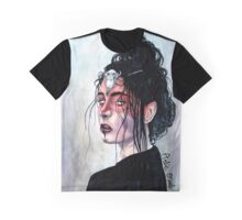 Dark Seer Watercolor Painting Graphic T-Shirt