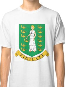 Virgin Island Coat of Arms Classic T-Shirt