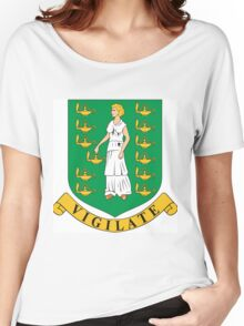 Virgin Island Coat of Arms Women's Relaxed Fit T-Shirt
