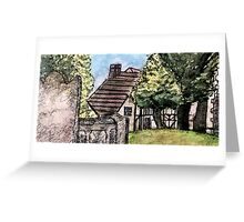 View from the church yard.... Greeting Card