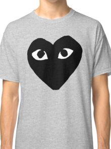 BLACK HEART WHITE EYES BALLERS Classic T-Shirt