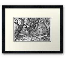 Abandoned Irish Stone House - www.jbjon.com Framed Print
