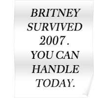 Britney Spears - 2007 Poster
