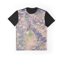 Honeybee and Lavender Graphic T-Shirt