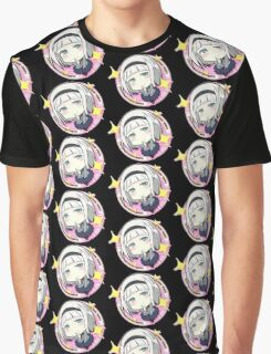SHIMONETA: A Boring World Where the Concept of Dirty Jokes Doesn't Exist - Anna Badge (Render) Graphic T-Shirt