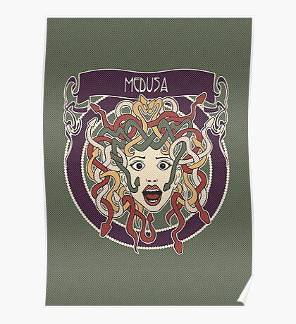 foolish medusa (green) Poster