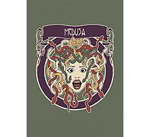 Foolish Medusa (green) Photographic Print