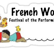 French Woods Festival of the Performing Arts Sticker