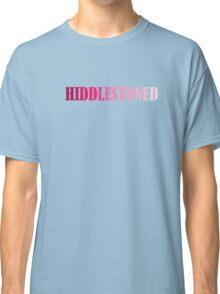 Tom Hiddleston Hiddlestoned Classic T-Shirt
