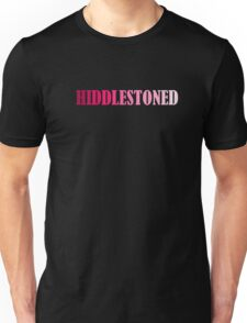 Tom Hiddleston Hiddlestoned Unisex T-Shirt