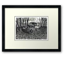 November Discoveries - www.jbjon.com Framed Print