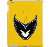 Dino Charge Gold Power Ranger / Kyoryu Gold iPad Case/Skin