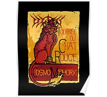 Le Chat Rouge Poster