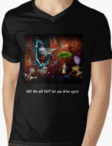 ~ There shoulda been a sign! ~ Mens V-Neck T-Shirt