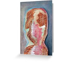 Abstract Face Merch #2 Greeting Card