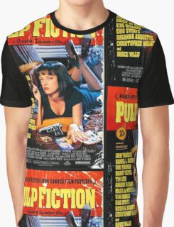 Pulp Fiction - Promotional Poster Graphic T-Shirt