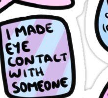 anxiety reward stickers Sticker