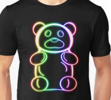Neon Rainbow Gummy Bear Unisex T-Shirt