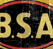 BSA vintage Motorcycle England Sticker