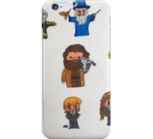 Harry Potter Cartoons iPhone Case/Skin