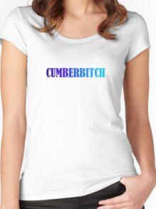 Benedict Cumberbatch Cumberbitch Women's Fitted Scoop T-Shirt