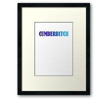 Benedict Cumberbatch Cumberbitch Framed Print