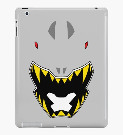 Dino Charge Silver Power Ranger / Kyoryu Silver iPad Case/Skin