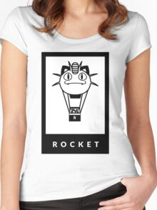 Team Rocket GO! Women's Fitted Scoop T-Shirt
