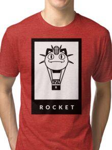Team Rocket GO! Tri-blend T-Shirt