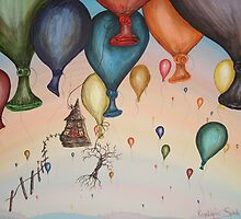 High In The Sky by Krystyna Spink