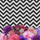 Floral Chevron by rapplatt