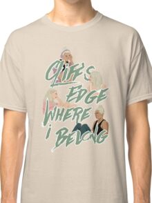 cliff's edge Classic T-Shirt