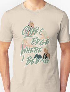 cliff's edge Unisex T-Shirt