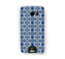 Blue Oval Design Samsung Galaxy Case/Skin