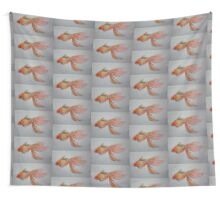 Goldfish Pond ( close up #9) Wall Tapestry