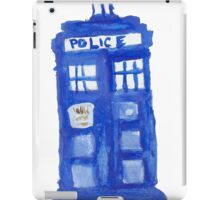 Watercolor TARDIS  iPad Case/Skin