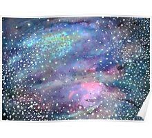 Custom Galaxy Wash Poster