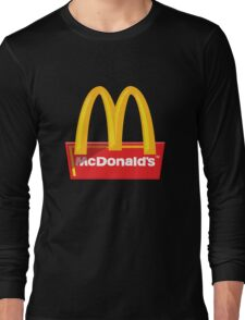 McDonald's Logo Long Sleeve T-Shirt