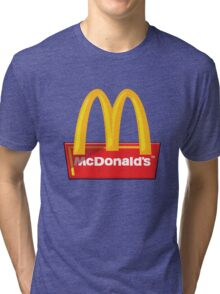 McDonald's Logo Tri-blend T-Shirt