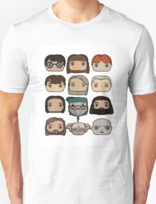 Harry Potter Character Doodle Unisex T-Shirt