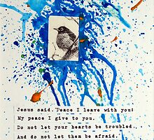 Peace I Give You - John 14:27 by Eva C. Crawford